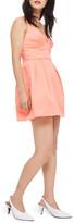 Topshop Cross Front Minidress