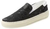 Lace Slip-On Sneaker