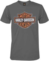 Harley-Davidson Men's Bar & Shield Short Sleeve Tee, Charcoal 30291958 (L)