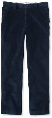 L.L. Bean Men's L.L.Bean Stretch Country Corduroy Pants, Classic Fit Plain-Front