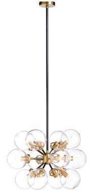 Chelsea House Naal 12 - Light Sputnik Sphere Chandelier
