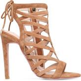 Carvela Gracie suede heeled sandals