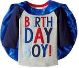 Mud Pie 2 Birthday Boy Cape T-Shirt Boy's T Shirt