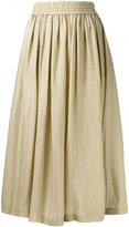 Etro metallic full midi skirt - women - Silk/Polyamide - 40