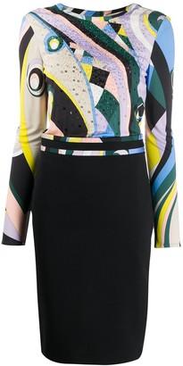 Emilio Pucci Occhi print dress
