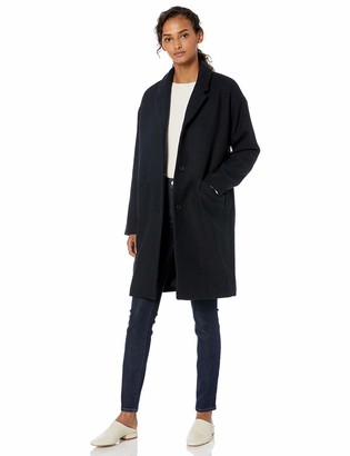 Daily Ritual Wool Cocoon Coat Jacket