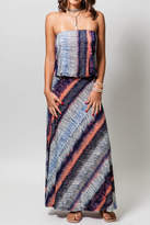 Veronica M Drop Waist Tube Maxi Dress