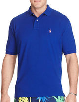 Polo Big And Tall Classic-Fit Cotton Mesh Polo