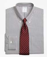 Brooks Brothers Regent Fitted Dress Shirt, Non-Iron Bengal Stripe