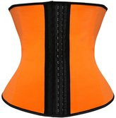 Zhitunemi Women's Latex Steel Boned Compression Waist Trainer Corset Waist Trimmer Cincher 6X-Large