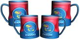Game Time Kansas Jayhawks 4-pc. Mug Set