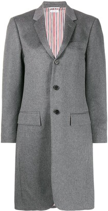 Thom Browne Single-Breasted Wool Coat