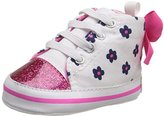 Gerber Hotpink Navy Flower Hightop Sneaker (Infant)