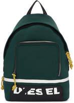 Diesel Black F-Surpass Lace-Up Backpack