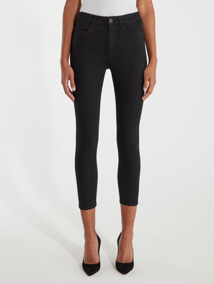 W3 Channel Seam High Rise Skinny Jeans
