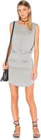 Bella Luxx Shirred Muscle Tank Dress