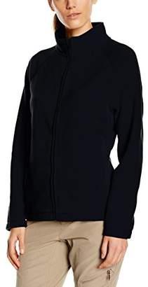 Fruit of the Loom Women's Zip front Fleece,16 (Manufacturer Size:)