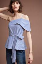 Maeve Mia One-Shoulder Blouse