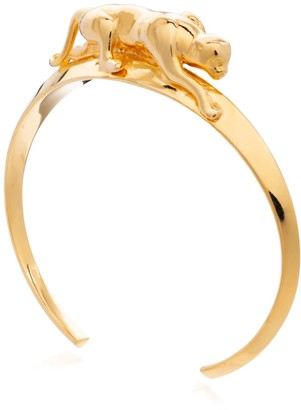 Rachel Jackson London Panther Bangle - Gold