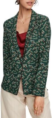 Scotch & Soda Print Pajama Blazer