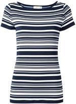 MICHAEL Michael Kors striped T-shirt - women - Polyester/Spandex/Elastane - S