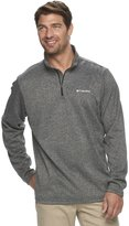 Columbia Men's Dunsire Point Classic-Fit Colorblock Fleece Quarter-Zip Pullover