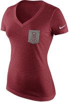 Nike Women's Alabama Crimson Tide Tri Mid-V Pocket T-Shirt