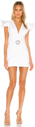 IORANE Supper Cotton Mini Dress
