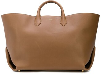 KHAITE The Large Envelope Pleat tote bag