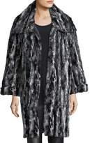 Caroline Rose Faux-Fur Easy Coat