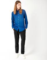 Gant Indigo Twill Shirt Blue