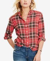 Denim & Supply Ralph Lauren Tomboy Plaid Shirt