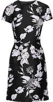 Michael Kors Jacquard Mini Dress - Black
