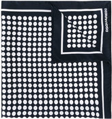 DSQUARED2 dot neck scarf - women - Silk - One Size