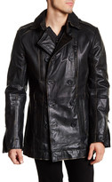 Rogue Genuine Leather Double-Breasted Jacket
