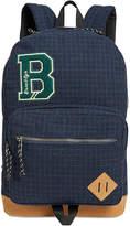 Steve Madden Men's Flannel Plaid Backpack