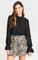 MUMU Huck Skirt ~ Cha Cha Cheetah