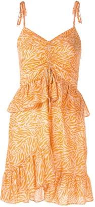 SUBOO Sienna printed mini dress