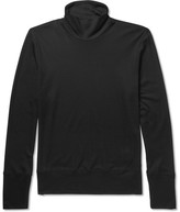 Bottega Veneta Silk and Cotton-Blend Rollneck Sweater