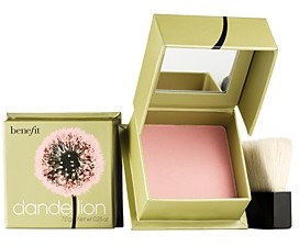 Benefit Cosmetics Dandelion Brightening Baby-Pink Blush, Standard Size - 0.25 oz.