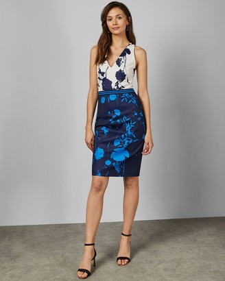 Ted Baker Bluebell Bodycon Racerback Dress