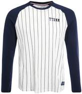 Tom Tailor Denim Long Arm Raglan Baseball Stripe Print Tshirt Original