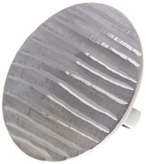 Roberto Coin Diamond Cut Dome Ring - Size 6.5