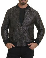 Robert Graham Ausable Paisley Silk Bomber Jacket