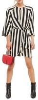 Topshop Women's Humbug Stripe Knot Dress