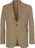 Rubinacci - Unstructured Houndstooth Wool Blazer
