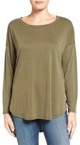 Bobeau Women's High/low Long Sleeve Tee