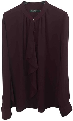 Lauren Ralph Lauren Burgundy Top for Women
