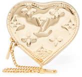 What Goes Around Comes Around Louis Vuitton Mirror Heart Coin Purse (Previously Owned)