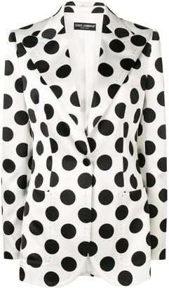 Dolce & Gabbana Polka-Dot Blazer
